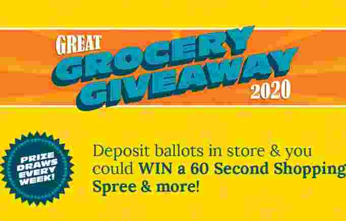 AG Foods Great Grocery Giveaway Game Contest 2020