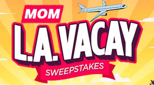 MOM L.A. Vacay Sweepstakes Word Of The Day