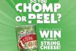 Frigo Cheese Heads Chomp vs. Peel Sweepstakes