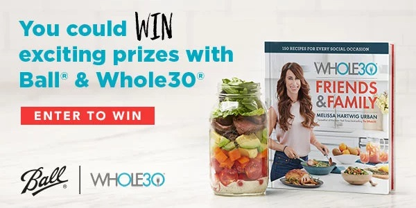 Ball Home Canning Whole30 Instant Win Game