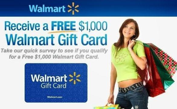 Walmart Survey February-April Sweepstakes