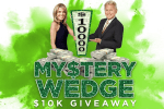 Wheeloffortune.com Mystery Wedge Win $10K Giveaway