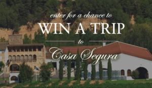 Win A Trip To Spain To Visit Casa Segura Sweepstake