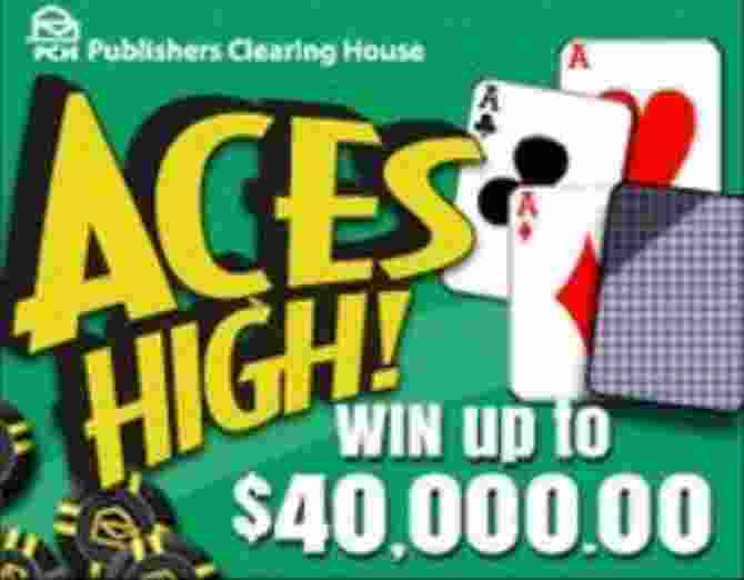 PCH Aces High Sweepstakes