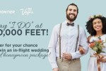 Frontier Airlines Wedding In The Sky Contest