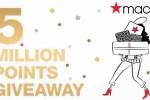 Macy's Star Rewards Five Million Points Giveaway