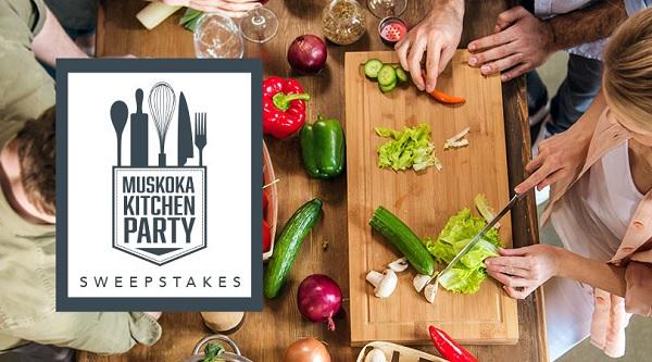 Muskoka Kitchen Party Sweepstakes