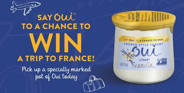 Say Oui To The French Way Sweepstakes & Instant Win Game