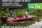Basspro.com Hunt For Monster Bass Sweepstakes