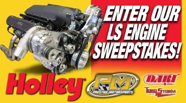 Holley LS Engine Sweepstakes 2020