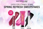 Maybelline Spring Refresh Sweepstakes