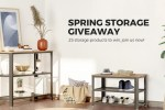 Songmics Spring Storage Giveaway