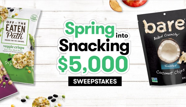 Tasty Rewards Spring Into Snacking Sweepstakes