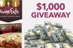 Divine Eats $1000 Gift Card Giveaway 2020