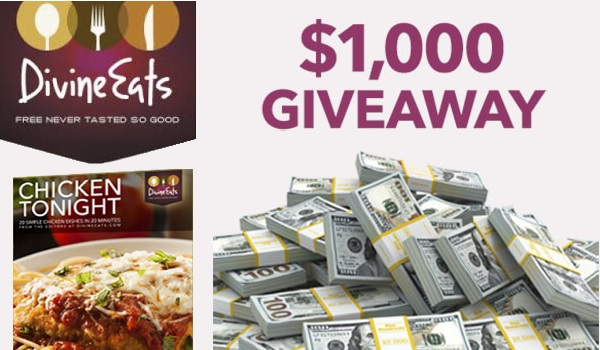 Divine Eats $1000 Gift Card Giveaway 2020