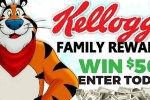 Kellogg's Family Rewards $500 Giveaway