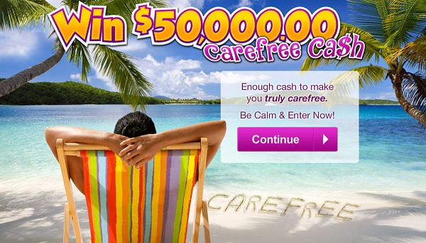 PCH $50000 CareFree Giveaway