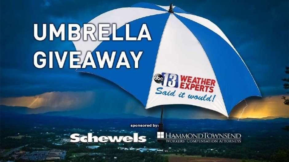 WSET Umbrella Giveaway Contest 2020