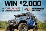 Extreme Terrain Jeep Wrangler Sweepstakes 2020