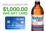 Natural Light Free Gas Sweepstakes