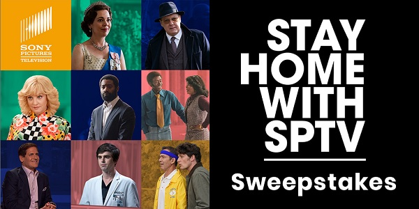 Sony Pictures Television Stay At Home Sweepstakes