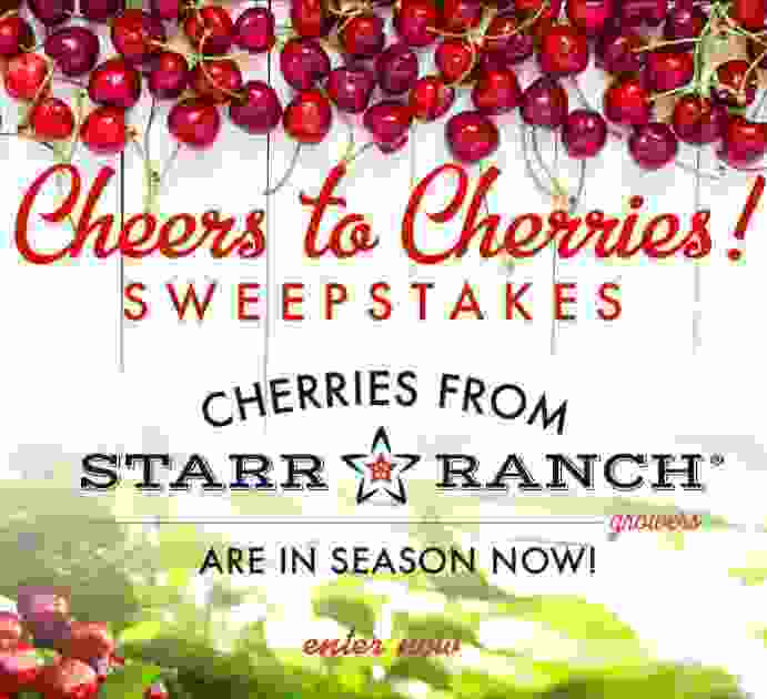 Farm Star Living Cheers to Cherries Sweepstakes