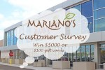 Mariano's Experience Customer Survey: Win $45,000 in Gift Cards