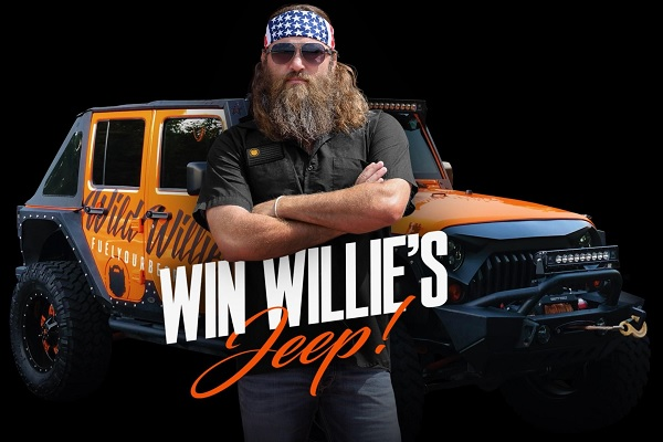 Wild Willies Jeep Giveaway