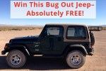 Spy Briefing Jeep Giveaway