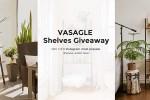 Songmics Vasagle Shelves Giveaway