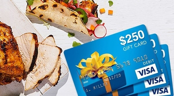 Turkey Farmers of Canada Visa Gift Card Sweepstakes 2020