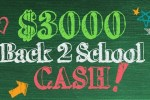 Frankly Media Back-2-School Cash Sweepstakes 2020