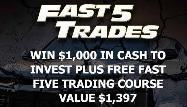 Fast Five Trading $1,000 Cash Giveaway 2020