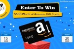 Topofstyle $600 Amazon Gift Card Sweepstakes 2020