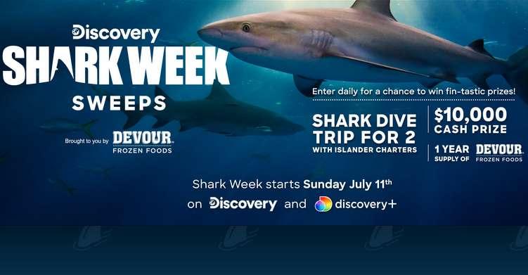 Discovery Shark Week Sweepstakes