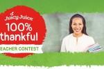 Juicy Juice Thankful Teacher Contest