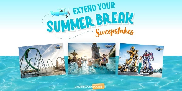 Undercover Tourist Sweepstakes 2020