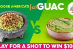 America's Favorite Guac Sweepstakes 2020