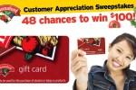 Hannaford Customer Appreciation Sweepstakes