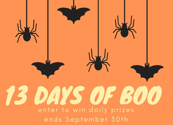 Oriental Trading - 13 Days Of Boo Halloween Giveaway 2020