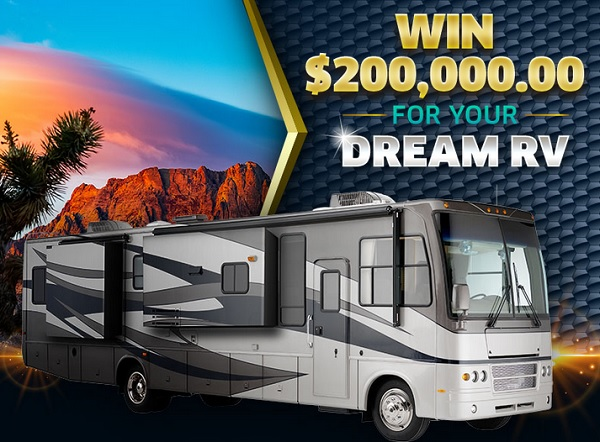PCH Dream RV Sweepstakes 2020