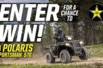 Rockstar Polaris ATV Giveaway 2020