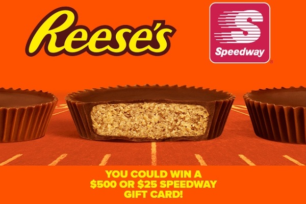 REESE'S Speedway Fall Football Sweepstakes 2020
