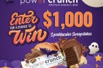 iHeartRadio Power Crunch Spooktacular Sweepstakes 2020