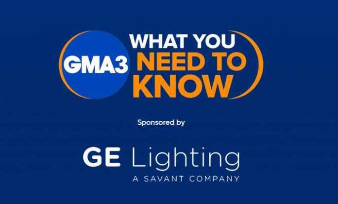 ABC GMA3 GE Lighting Giveaway