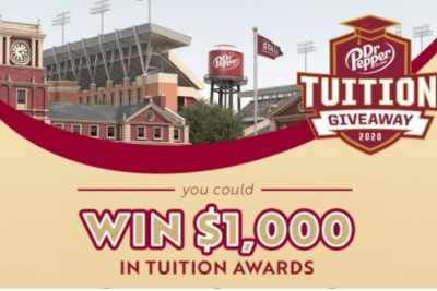 Dr Pepper Tuition Giveaway