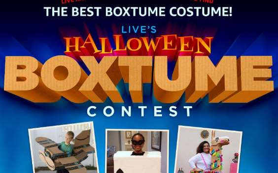 Live with Kelly And Ryan Halloween Boxtume Contest 2020
