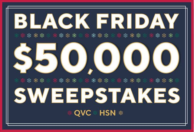 QVC Black Friday Sweepstakes 2020