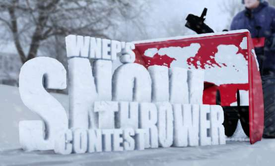 WNEP Snow Thrower Contest