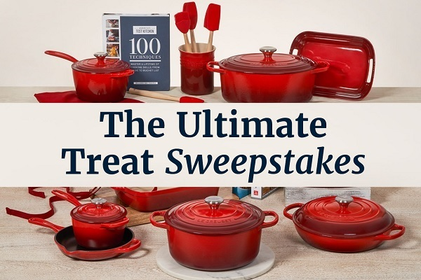 America's Test Kitchen Cookware Sweepstakes 2020